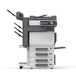 Das Bild zeigt einen Drucker und Kopierer; das Ergebnis einer Ausschreibung für Drucker und Kopierer.