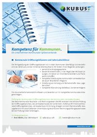 """Das Bild zeigt das Produktblatt """"Rechnungswesen"""", welches das Oberthema für Eröffnungsbilanzen und Jahresabschlüsse ist."""