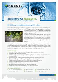 """Das Bild zeigt das Produktblatt """"Gesplittete Abwassergebühr"""" für Kunden im Süden Deutschlands."""
