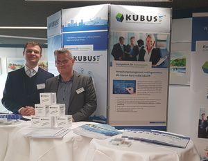 von links: Hans-Martin Helbig (Vertrieb), Volker Bargfrede (Geschäftsführer KUBUS GmbH)