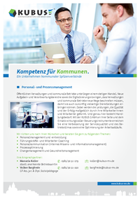 """Das Bild zeigt das Produktblatt """"Personal- und Prozessmanagement"""" mit allen Leistungen auf einen Blick."""